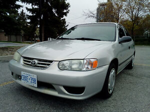 2002 Toyota Corolla Runs Great-NEW TIRES,E-Tested until 2018