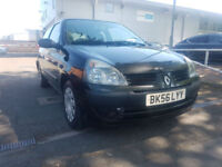 2006 '56' RENAULT CLIO 1.2 CAMPUS - TWO LADY OWNERS LAST 9 YEARS