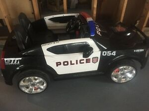Kids Dodge Charger Police Car Ride-On