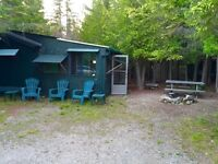 Tobermory Camping Cabin!
