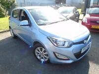 2013 Hyundai i20 1.2 Active - Blue - Platinum Warranty!