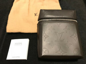Louis Vuitton Belt bag Monogram Vernis Matte BLACK