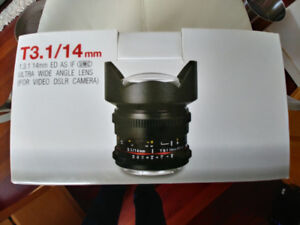 Samyang Ultra Wide Angle Lens - Mint Condition