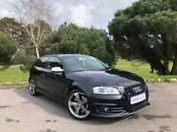 2010 AUDI A3 2.0 S3 TFSI QUATTRO S LINE BLACK EDITION 3D ONE FORMER KEEPER, FASH