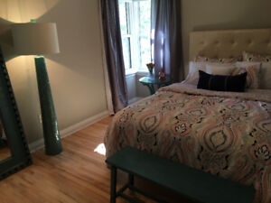 Furnished suite, great alternative to a long hotel stay. July 2