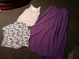 Bundle of ladies clothes size l