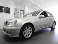 Mercedes C Class C200K ELEGANCE SE Auto, Silver