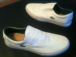 *NEW* souliers LACOSTE shoes