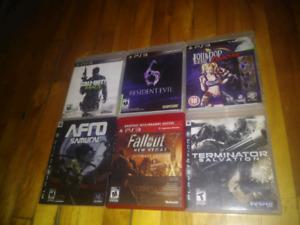Lot de jeux ps3 60$