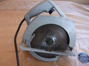 """Vintage Sears 7"""" Electric Hand Saw  Model #: C315.27670"""