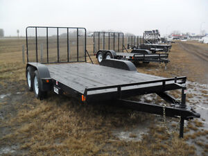 "New 2017 ""Rainbow"" Tandem Axle 12' & 14' ATV/Utility Trailers"