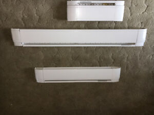 Base board heaters new style priced each.