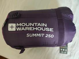 Sleeping bag Mountain warehouse Summit 250