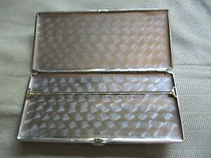 stainless cigarette 1940's $100 dollar american bill case West Island Greater Montréal image 3