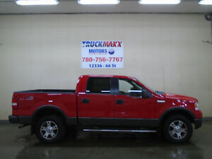 2005 Ford F-150 SuperCrew 4x4 Lariat FX-4
