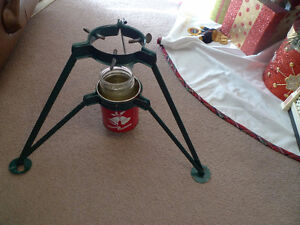 Vintage Christmas Tree Holder No. 2 Made in Canada .