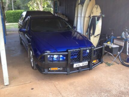 FORD XR6 AUIII UTE Lennox Head Ballina Area Preview
