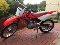 Honda crf 100 2007 model.. Not kx yzf or ktm