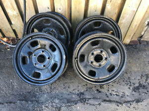 Set of Factory Dodge Ram 1500 Rims