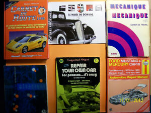 Livres et revues sur L'automobile