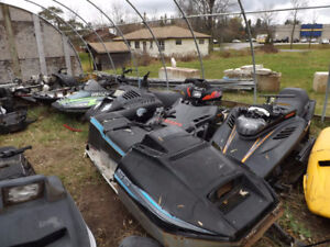 Used Snowmobile Hoods and More