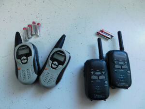 2 sets of FRS radios