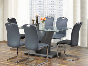 GREY MODERN STYLE DINING SET FOR $599 ONLY