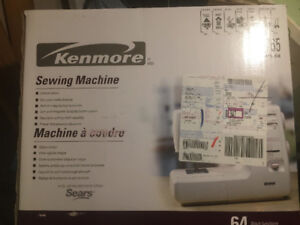 KENMORE 64-Stitch Sewing Machine - new, never taken out of box