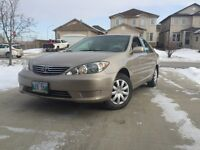 2005 Toyota Camry  PRICE DROPPED and SAFETIED
