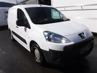 PEUGEOT PARTNER HDI S L1 850, White, Manual, Diesel, 2009
