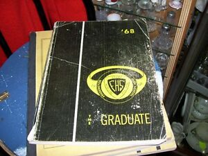 1968 The Graduate Fredericton High School yearbook