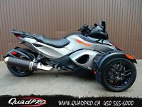 2011 Can-Am SPYDER RSS SE5 61,42$/SEMAINE