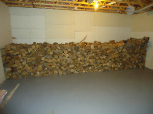 2.5 cords of dried fire wood