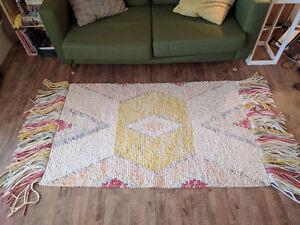 Beautiful 3x5 ft Wool Bohemian Rug
