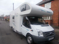 Chausson Flash 03 6 berth rear fixed bunk beds motorhome for sale