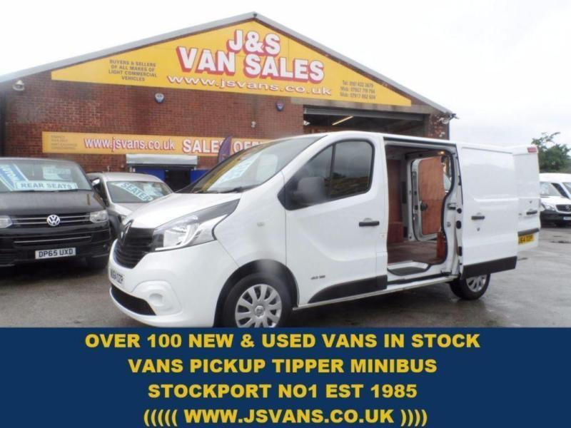 2014 64 RENAULT TRAFIC RENAULT TRAFIC BUSINESS PLUS ONLY 44000 MLS DIESEL