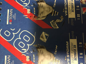 2 Kitchener Rangers Tickets Tues Oct 30 vs Guelph Storm