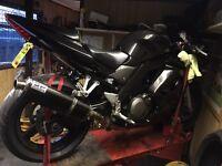 2005 suzuki sv650 s k5 black
