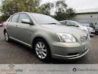 TOYOTA AVENSIS T3-S D-4D, Silver, Manual, Diesel, 2005 HISTORY LONG MOT MAY 2017