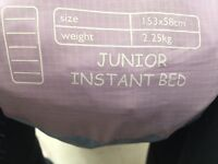 Girls junior instant bed