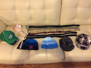 Kids hats, belts and more