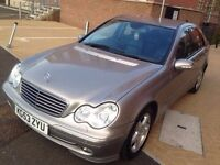 Mercedes-Benz C Class 2004 1.8 C180 Kompressor Avantgarde 4dr** AUTOMATIC*LEATHER SEATS*NAVIGATION