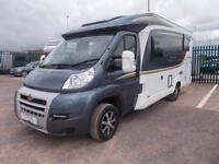 Burstner Nexxo t690 55 2014 2/3 Berth Luxury Motorhome Only 16k miles 2 TVs