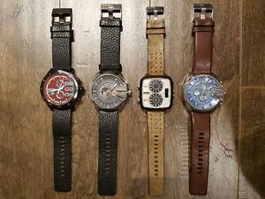 4 montres Diesel pour le prix d'une