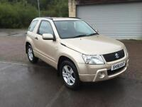 56 reg Suzuki Grand Vitara 1.6 VVT Plus 3 Door Metallic Champagne