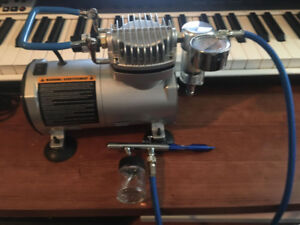 Brand New Master Craft air brush compressor and accesories