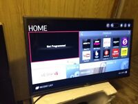 "LG 32"" Smart LED Tv Graphite Grey Netflix YouTube warranty free delivery"