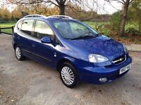 CHEVROLET TUCUMA 1.6 2007. 1 YEARS MOT. LOW MILES ONLY DONE 63k. NEW SHAPE