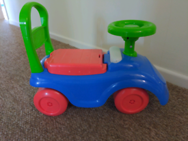 ELC ride on car for 12-36 months