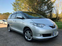 FRESH IMPORT 2007 NEW SHAPE TOYOTA ESTIMA HYBRID AERAS 2.4 PETROL/ELECTRIC AUTO